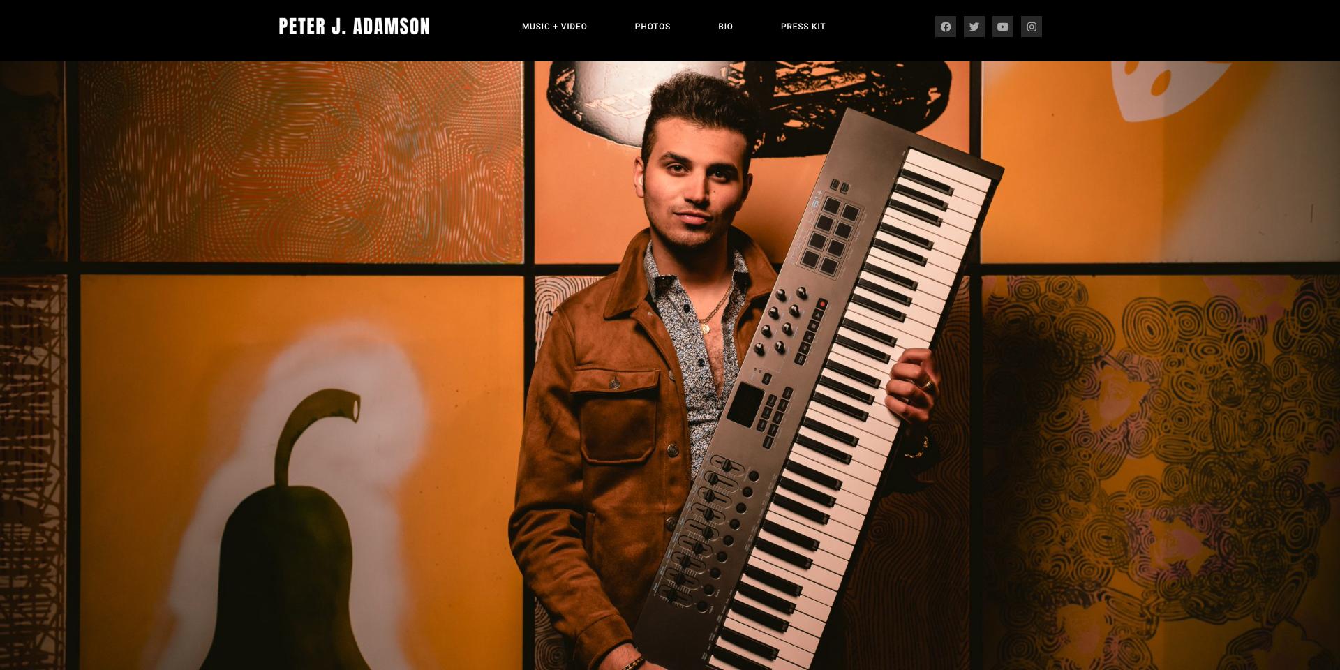 PJA homepage